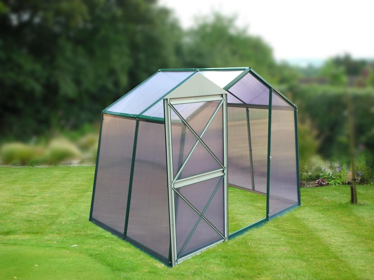skleník LANITPLAST DODO 8x5 PC 4 mm zelený