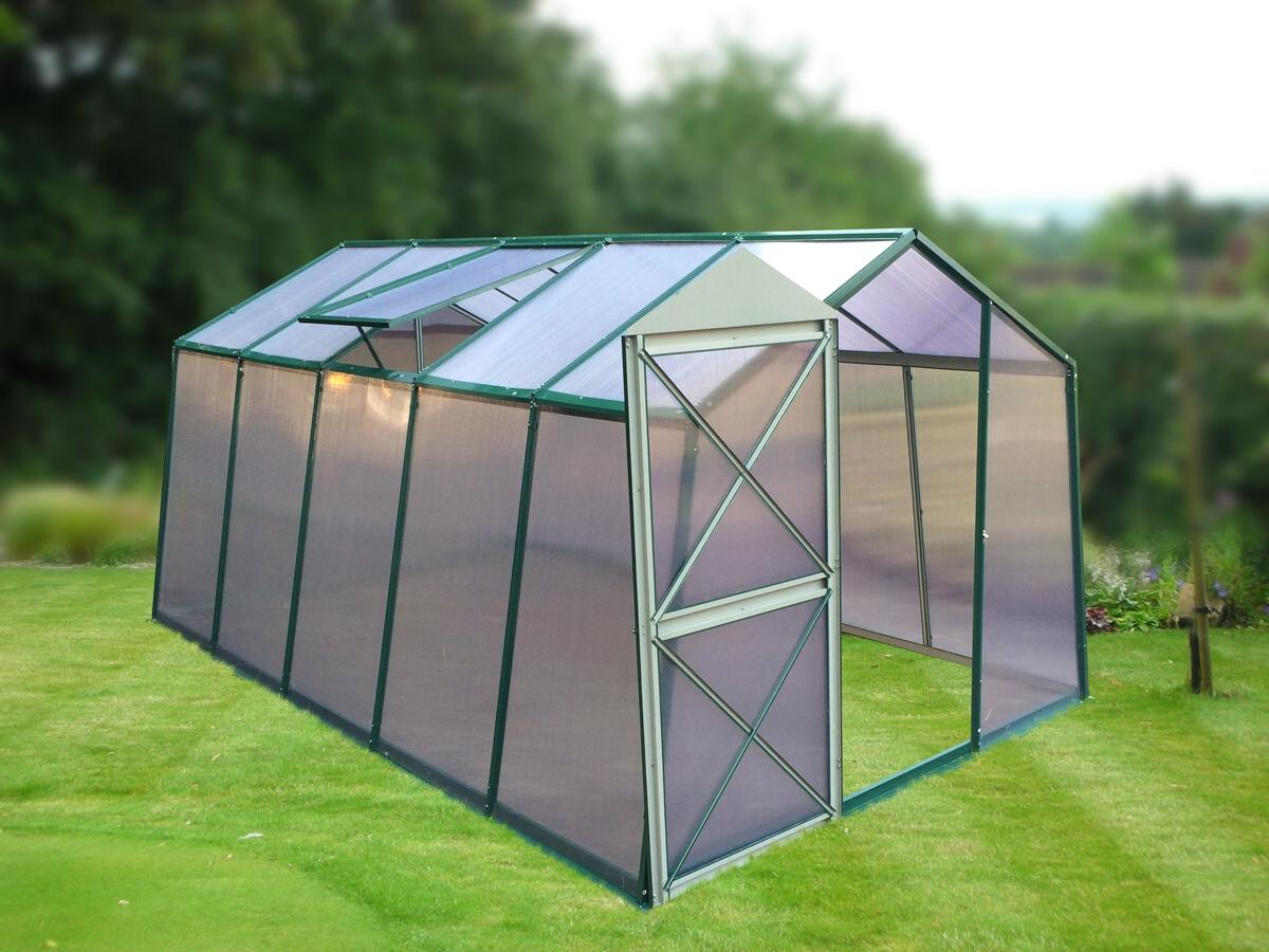 skleník LANITPLAST DODO 8x12 PC 8 mm zelený