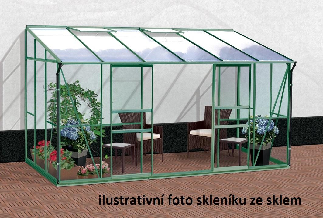 skleník VITAVIA IDA 7800 PC 6 mm zelený