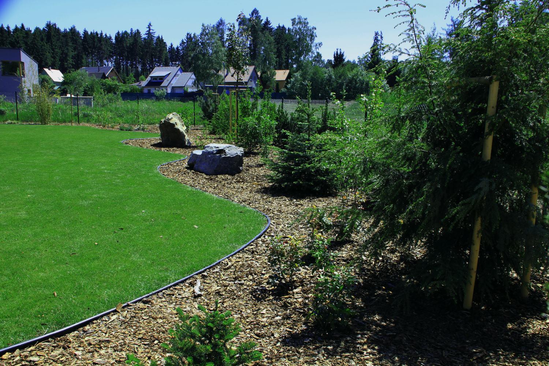 zahradní obrubník GARDEN DIAMOND JUNIOR 6 m zelený