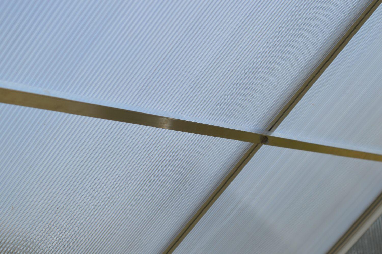 zpevňující střešní lišty pro skleník LANITPLAST PLUGIN 6x12