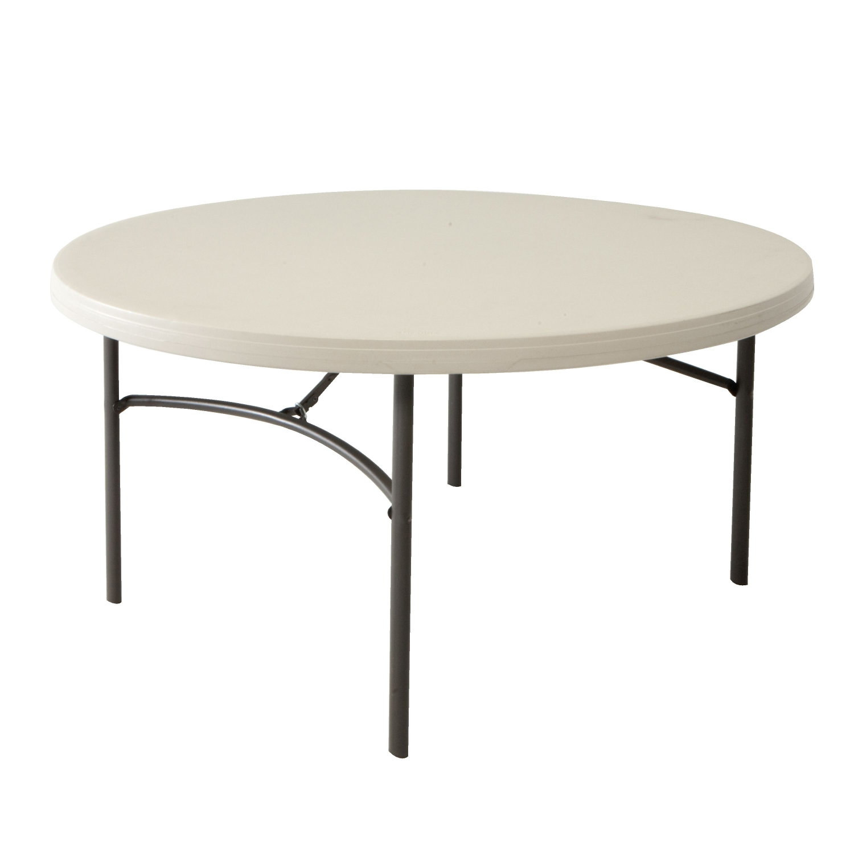 kulatý skládací stůl 152 cmLIFETIME 80121
