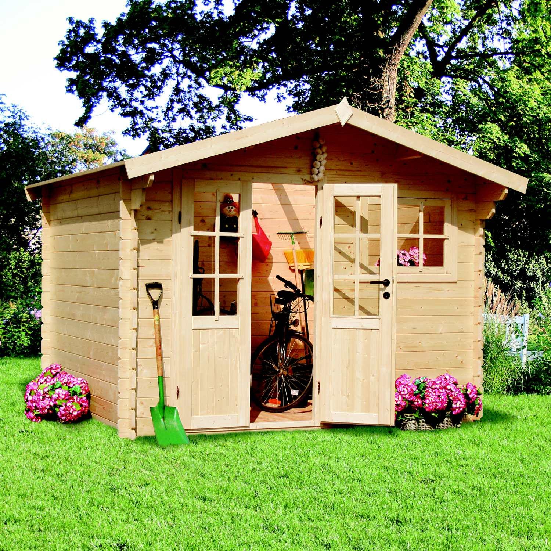 zahradní domek LANITPLAST KLAUDIA 300 x 300 cm