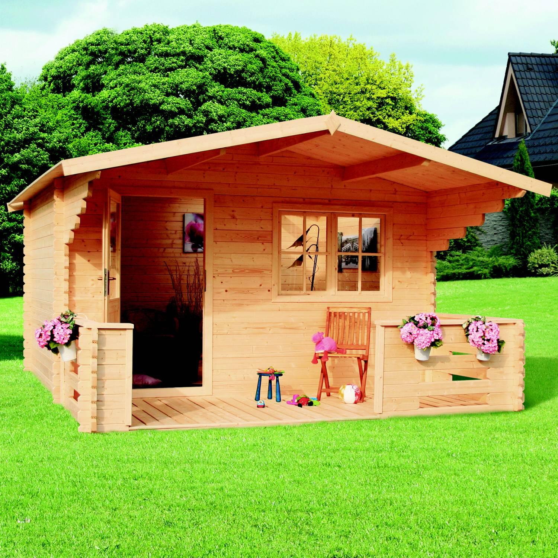 zahradní domek LANITPLAST ZINA 398 x 557 cm