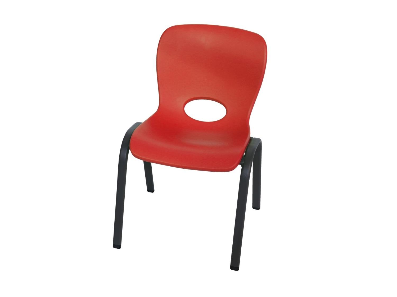 LIFETIME dětská židle červená 80511