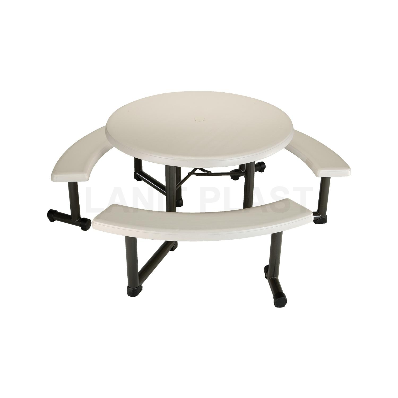 piknikový stůl + 3x lavice SLEVA LIFETIME 22127 - zboží z výstavy