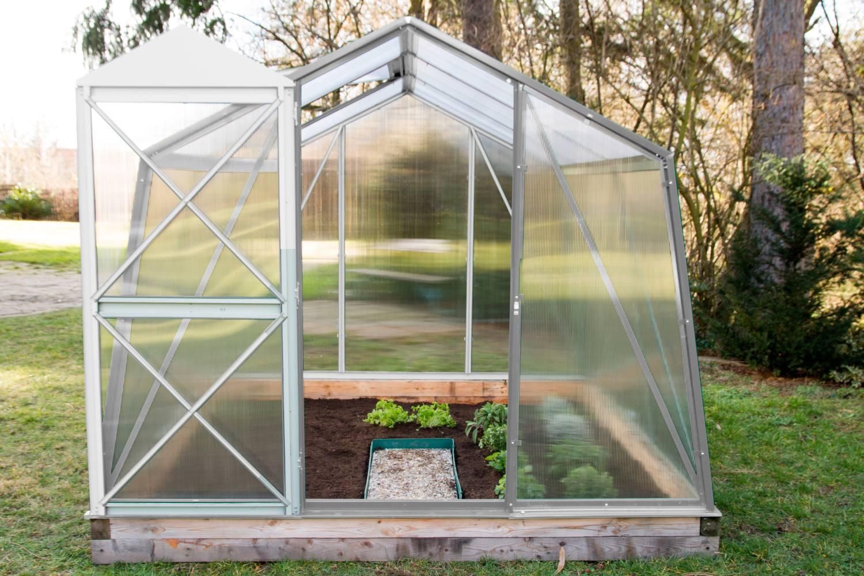 skleník LANITPLAST DODO BIG 8x10 <br>PC 4 mm šedý
