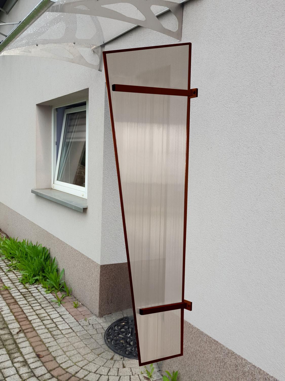 univerzální boční stěna LANITPLAST UNI hnědá / PC