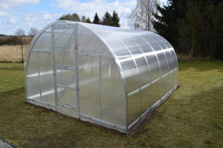skleník LANITPLAST KYKLOP 3 x 8 m PC 6 mm