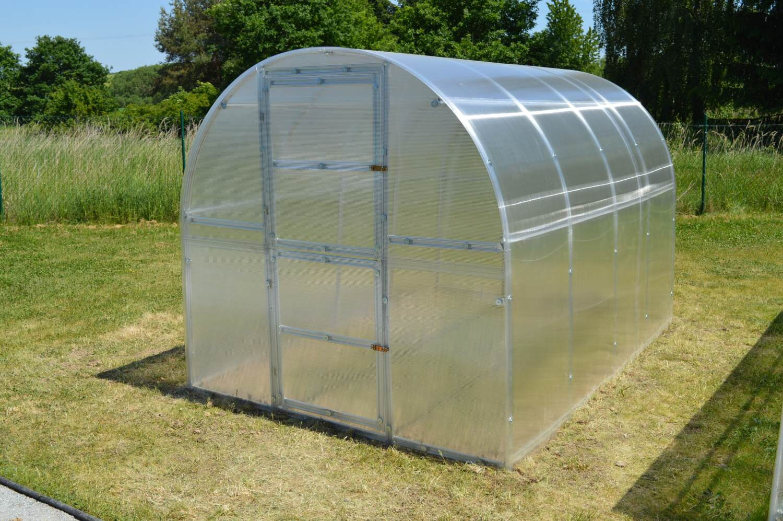 skleník LANITPLAST KYKLOP 2 x 3 m PC 4 mm