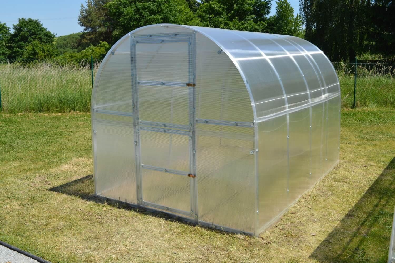 skleník LANITPLAST KYKLOP 2 x 4 m PC 6 mm