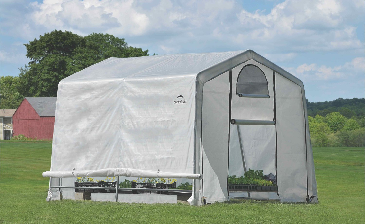 SHELTERLOGIC 3,0x3,0 m - 35 mm - 70656EU fóliovník