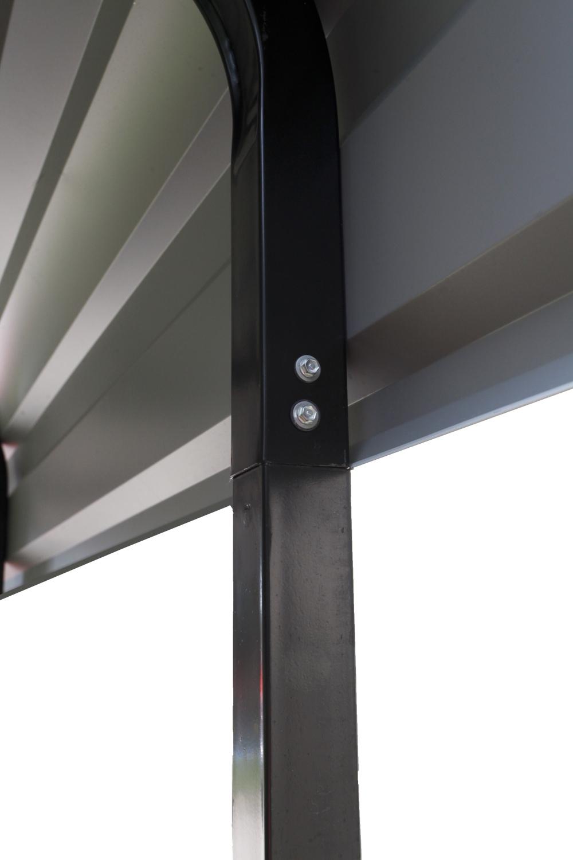 kovový přístřešek / carport ARROW 3,7 x 6,0 m - 122007