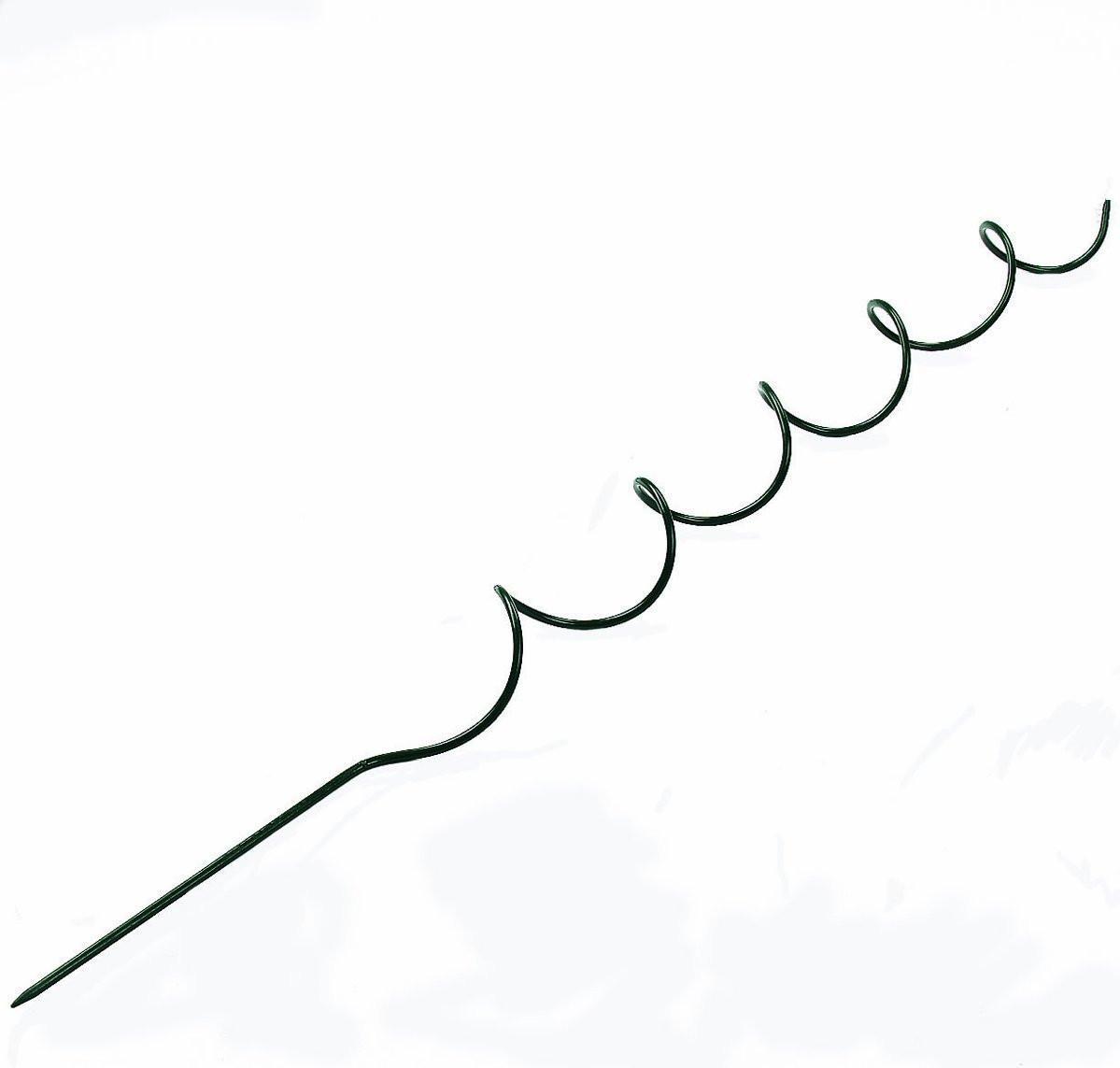 kroucené tyčky na rajčata - sada 4 kusů 6 mm x 180 cm