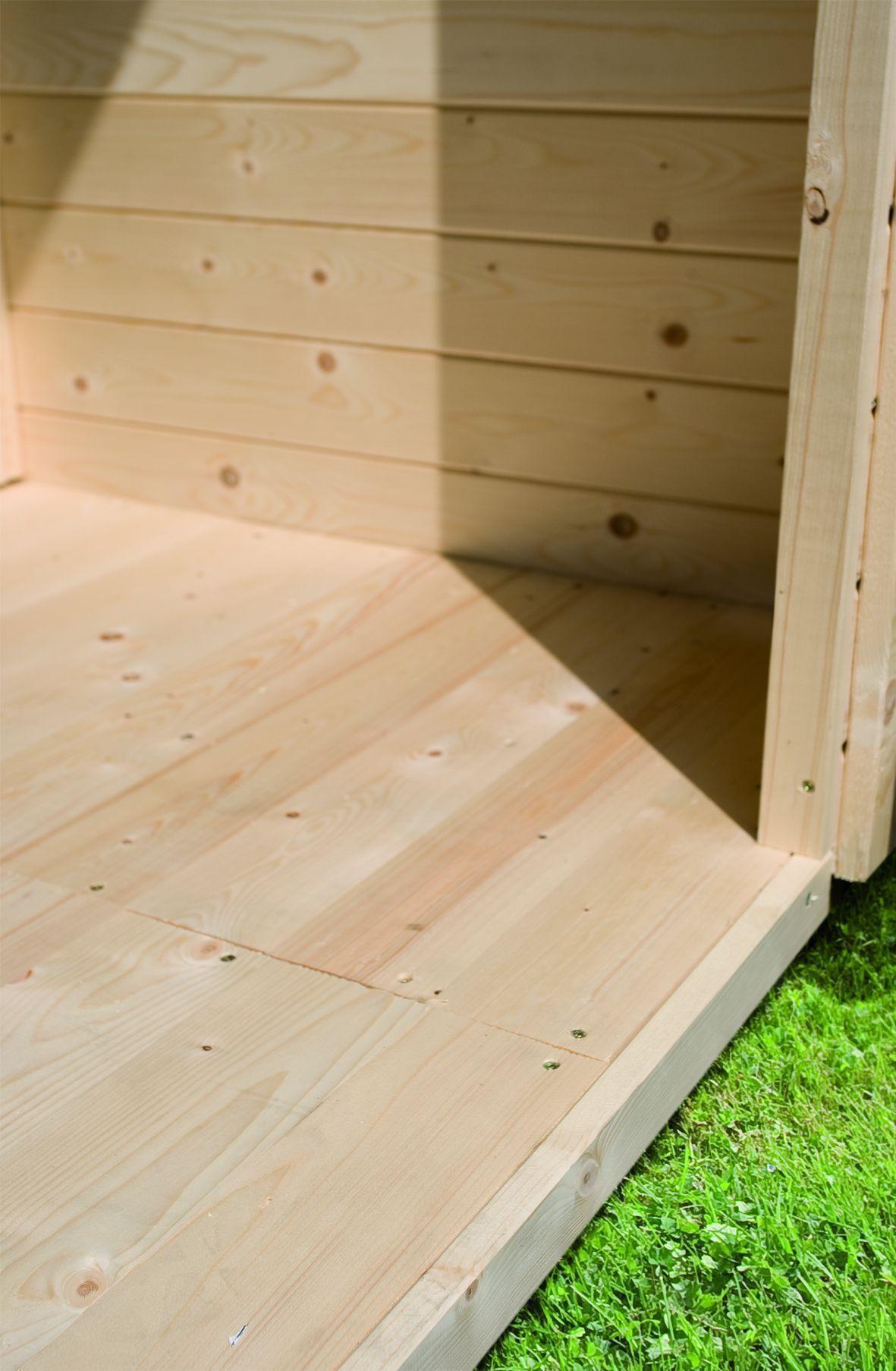 dřevěná podlaha KARIBU TASTRUP 4 (76626)