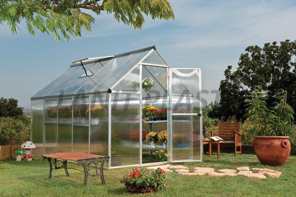 skleník NEW MULTILINE - NATUR typ 6x10, rozměr 185 x 310 cm