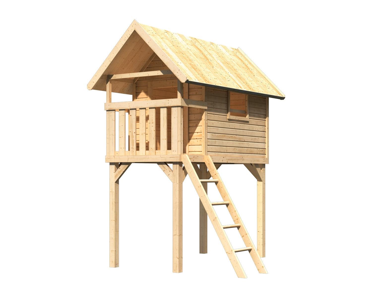 dětský domek KARIBU GERNEGROSS 91188 natur