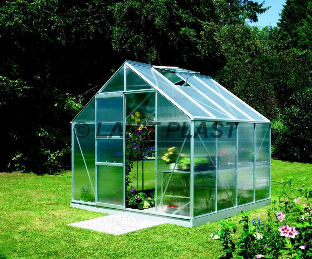 skleník MERKUR 6700PC 4 mm, rozměr 257 x 258 cm