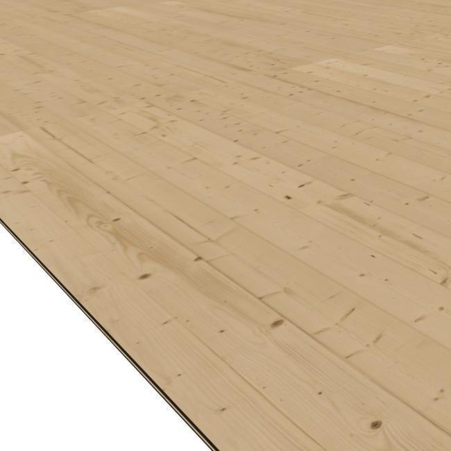 dřevěná podlaha KARIBU QUBU ECK (41957)