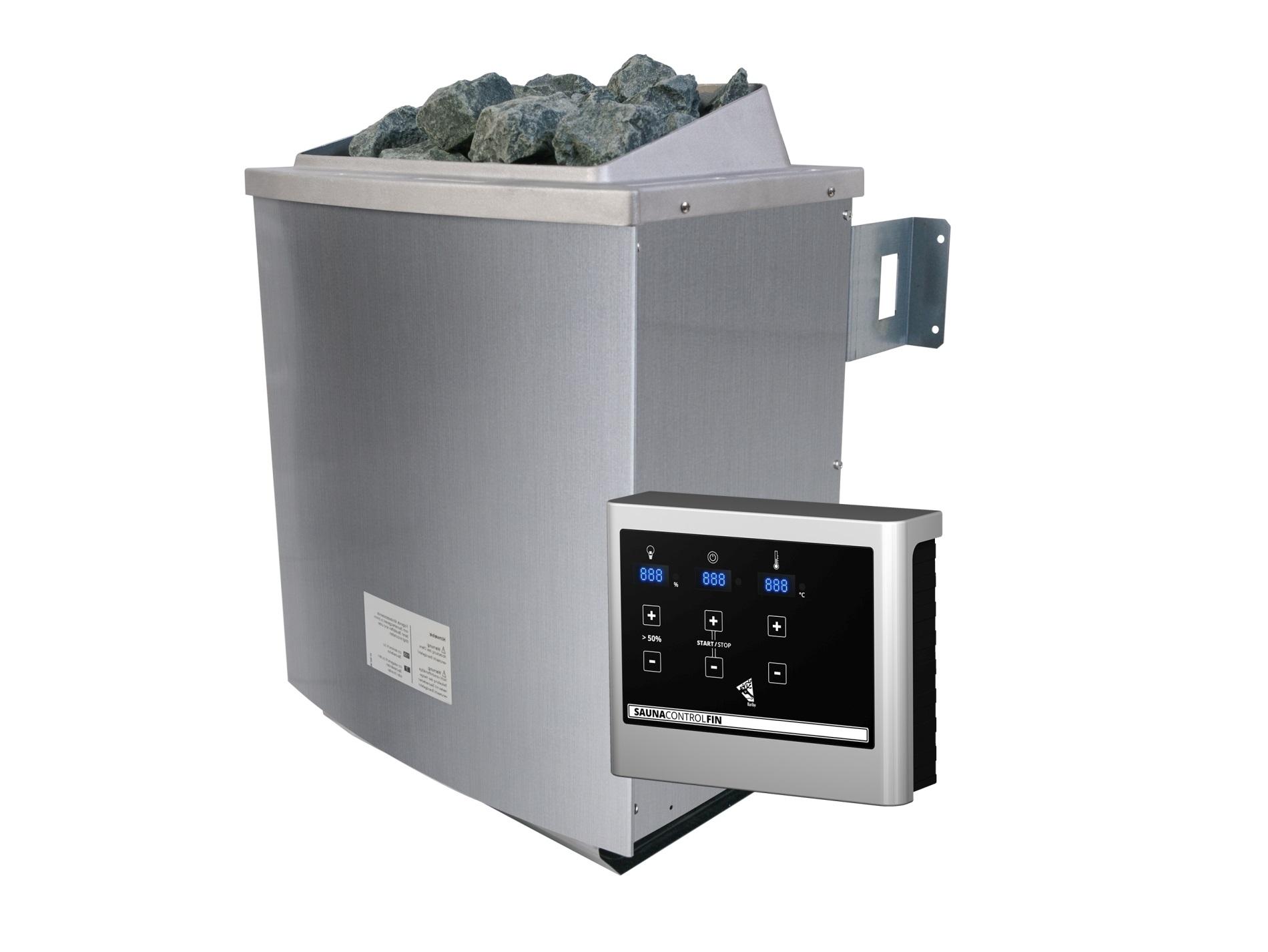saunová kamna KARIBU 9 kW (80637) externí digitální ovladač