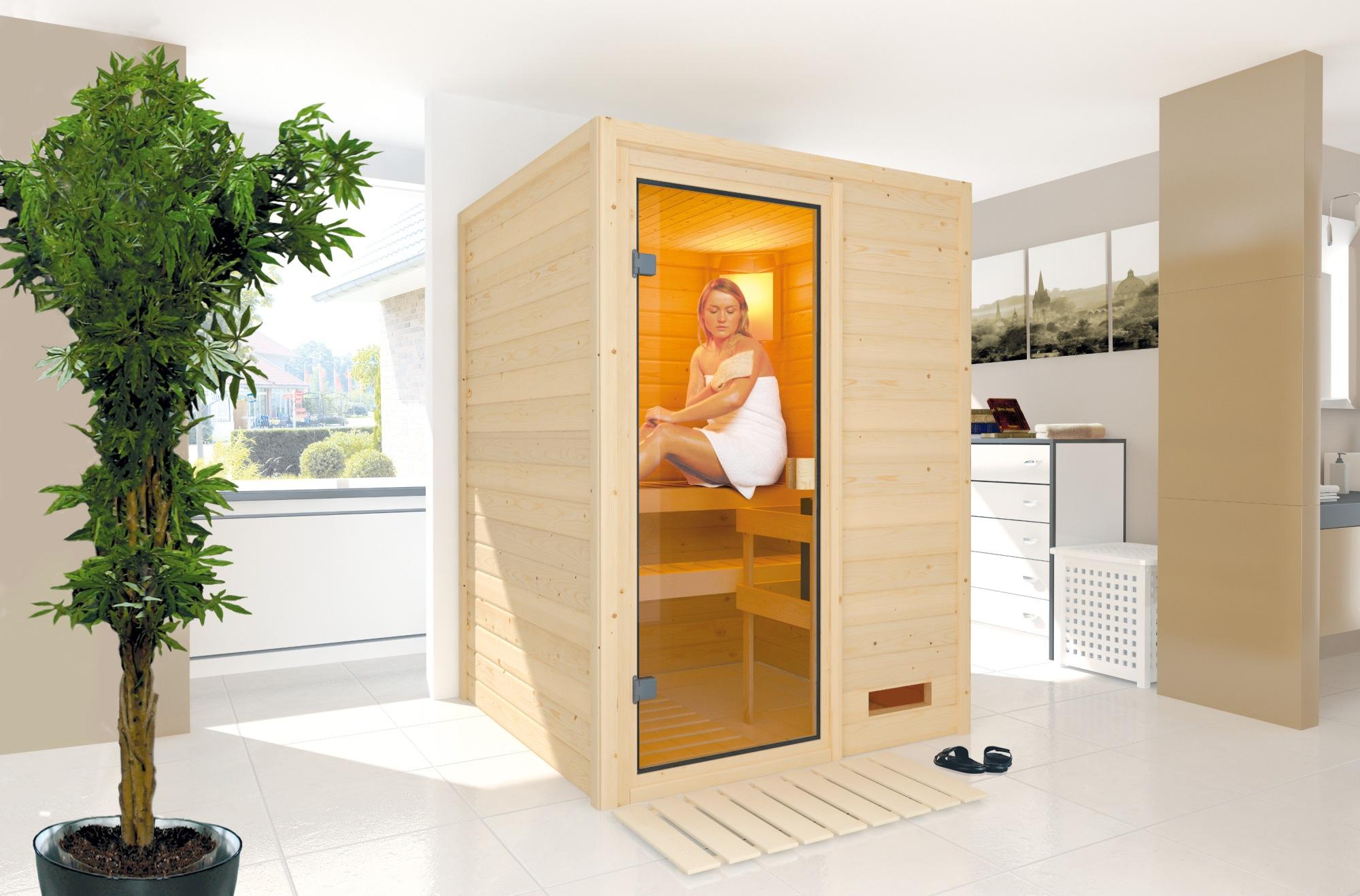 finská sauna KARIBU SVENJA (53517)