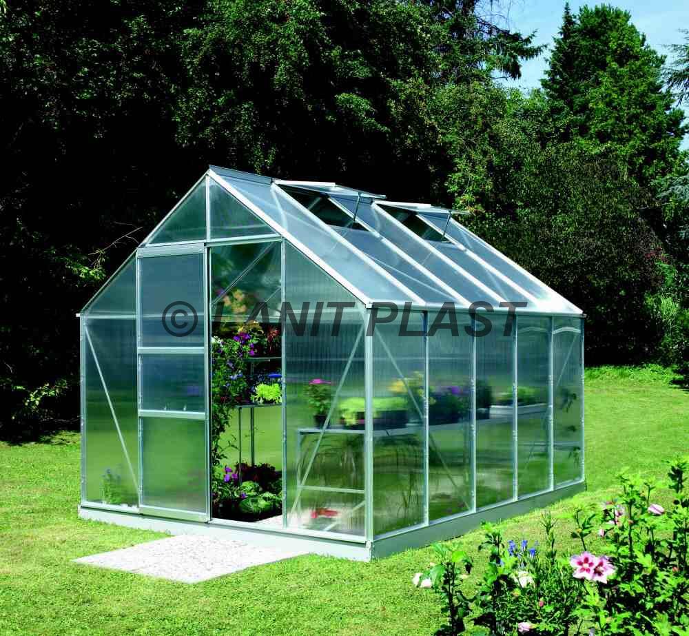 skleník MERKUR 8300PC 6 mm, rozměr 257 x 321 cm
