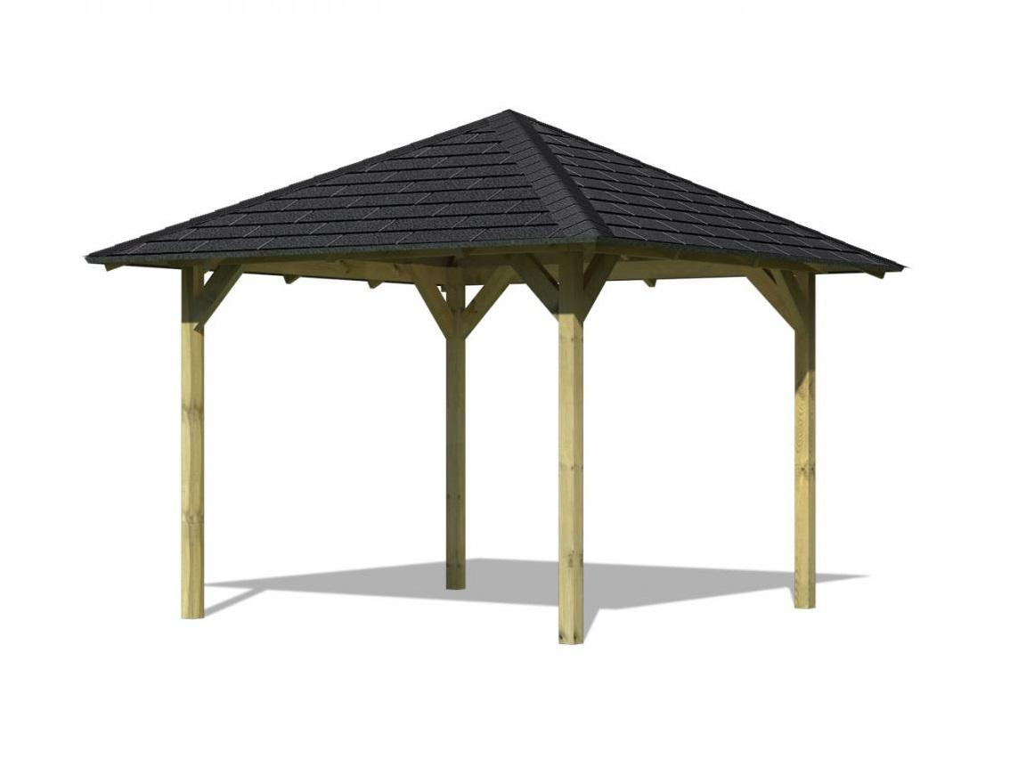 KARIBU SEVILLA 68819 zahradní altán  vč. černého střešního šindele