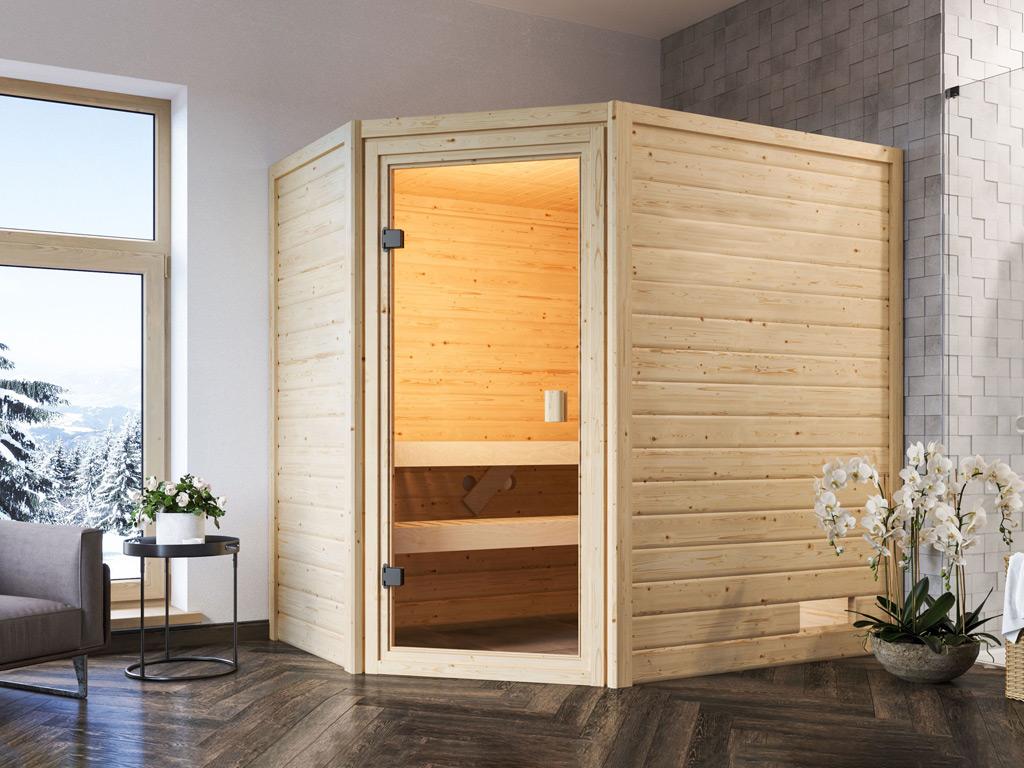 finská sauna KARIBU JELLA (6166)