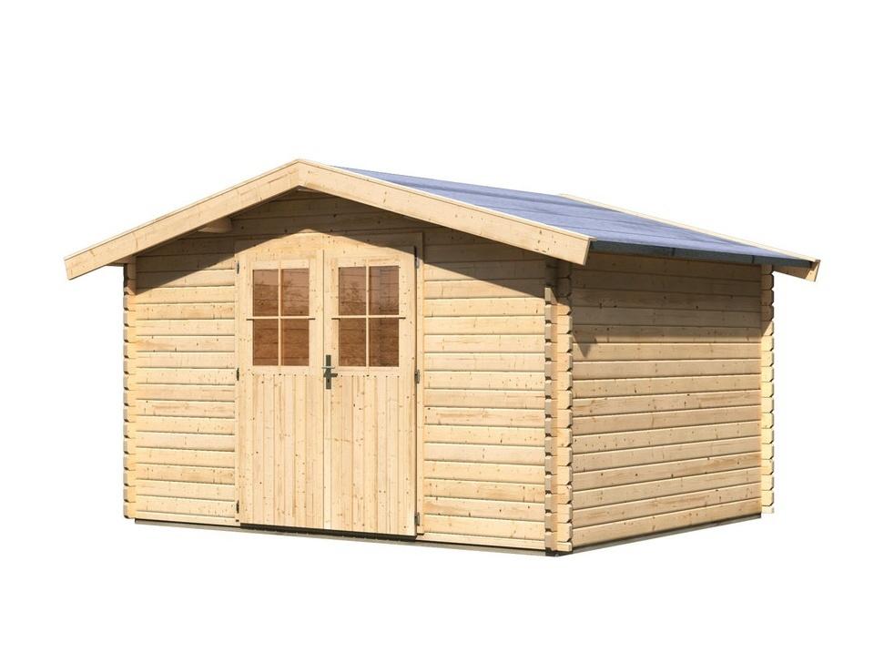 dřevěný domek KARIBU MÜLHEIM 4 (88596) natur