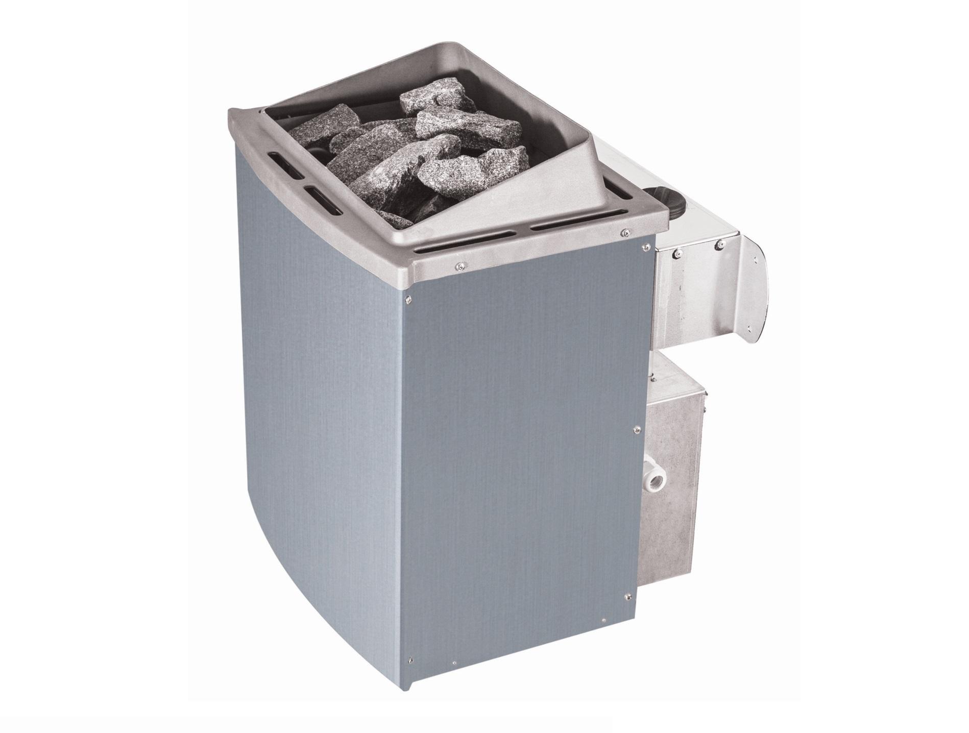 saunová kamna KARIBU 9 kW (80637) s integrovaným ovladačem