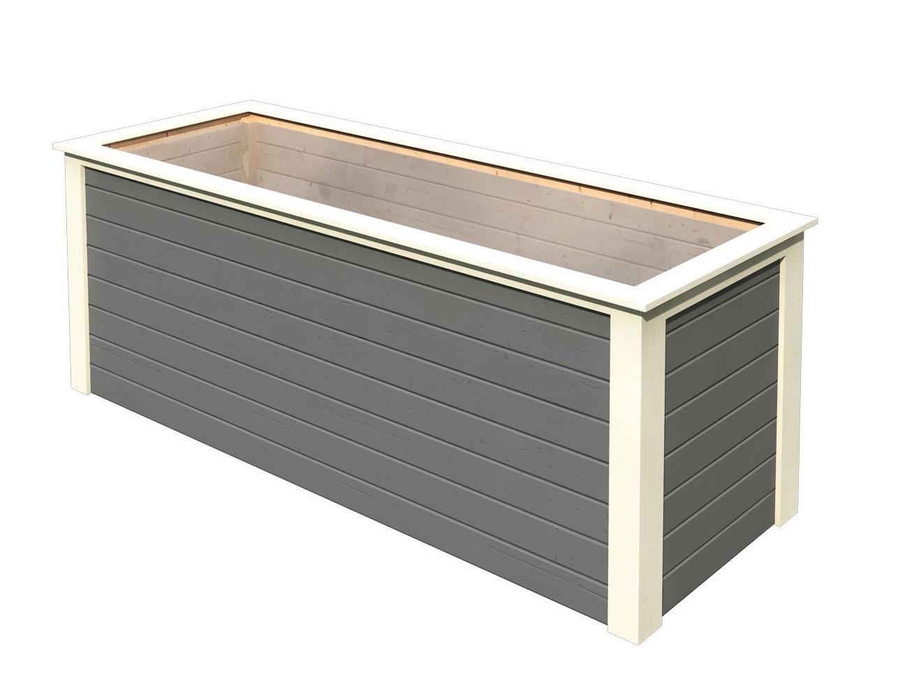 KARIBU HOCHBEET 282 (91550) terragrau vyvýšený záhon