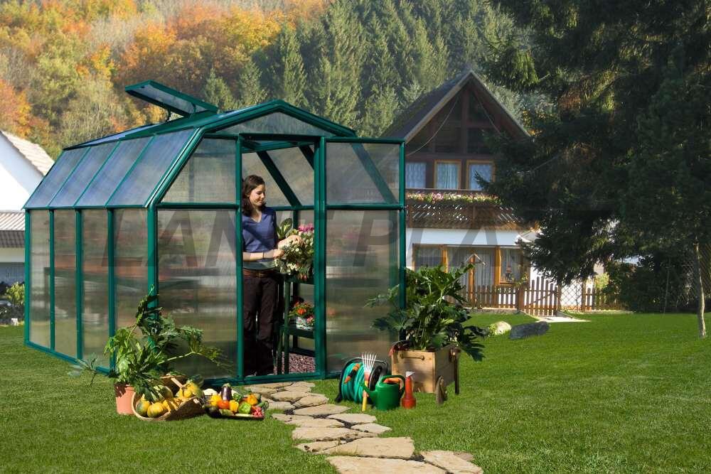 skleník RION ECO GROW typ 6x16, rozměr 197 x 453 cm