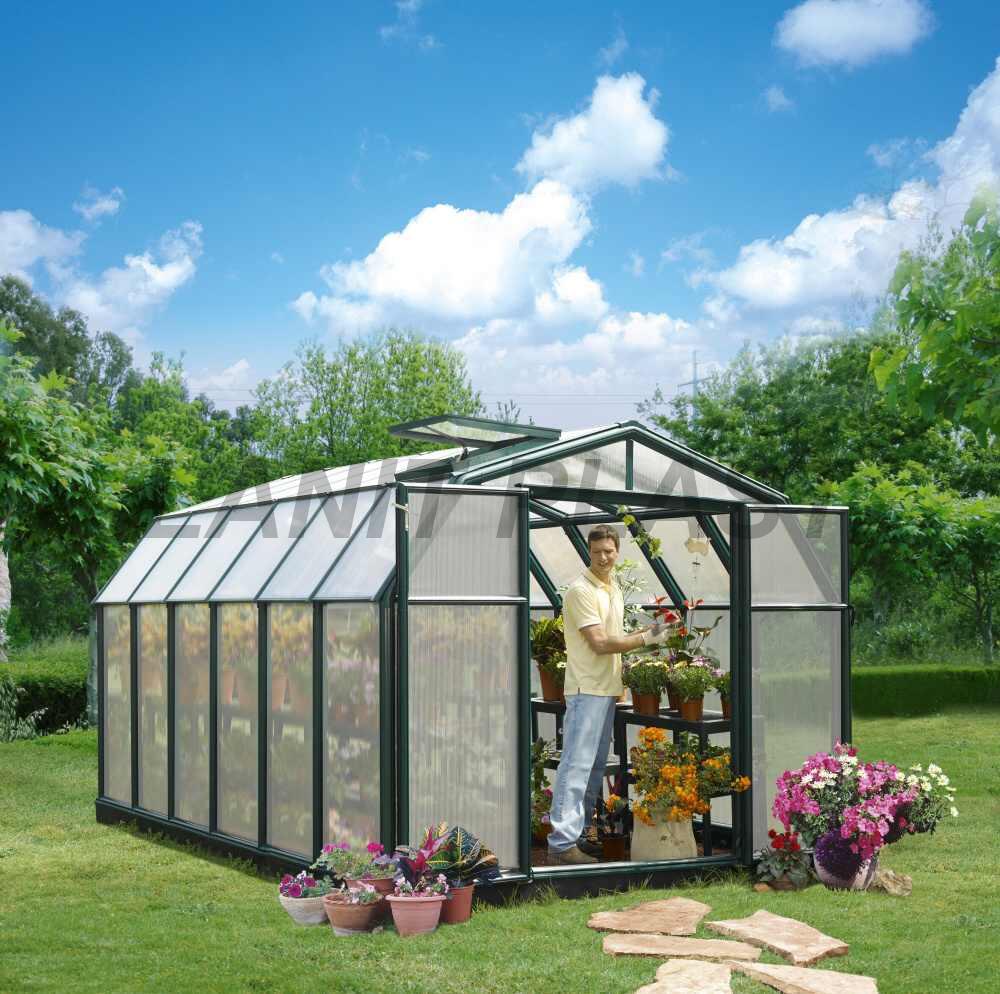 skleník RION HOBBY GARDENER typ 8x16, rozměr 259 x 507 cm