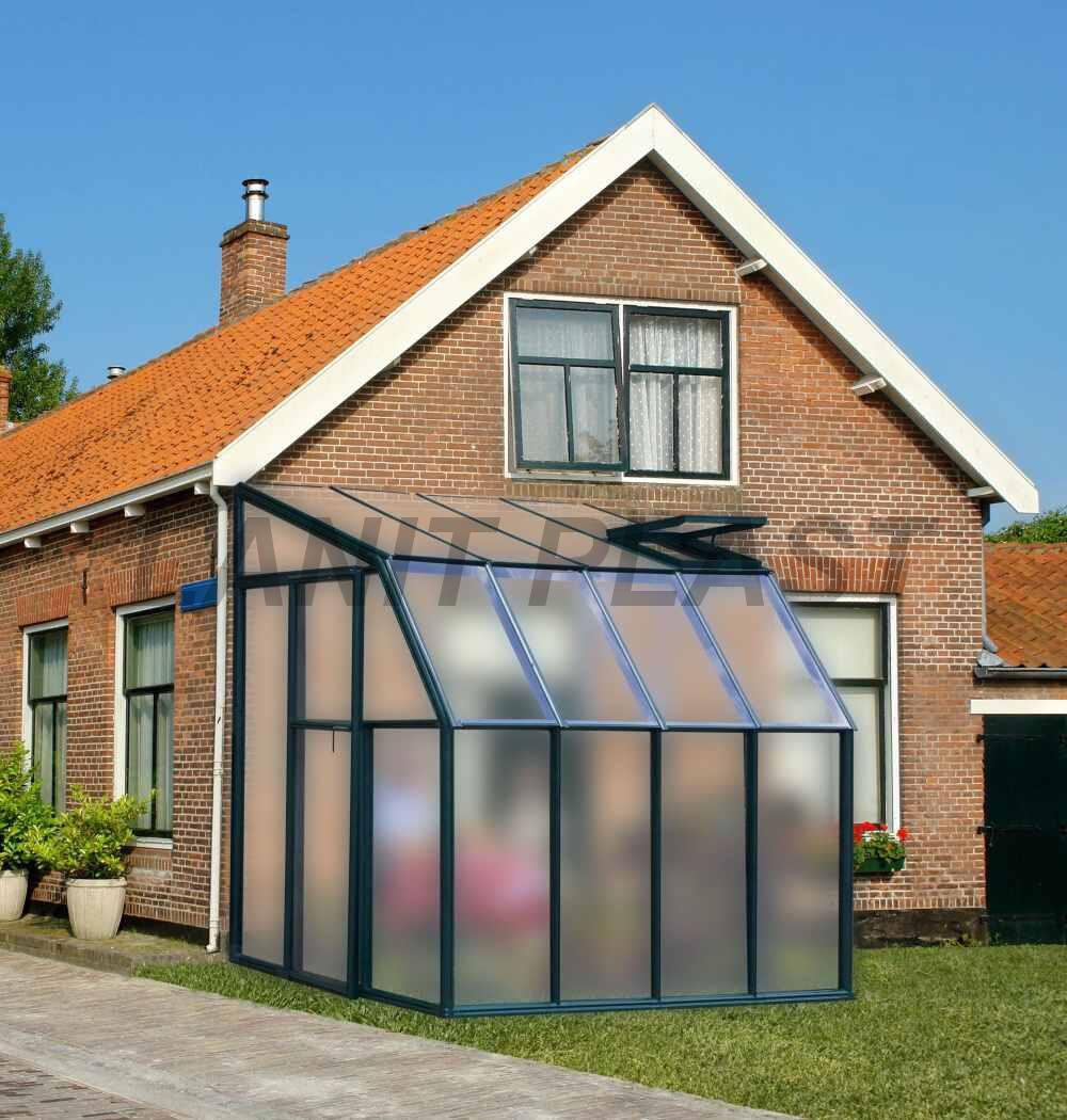 skleník RION SUN LOUNGE typ 6x14, rozměr 195 x 445 cm