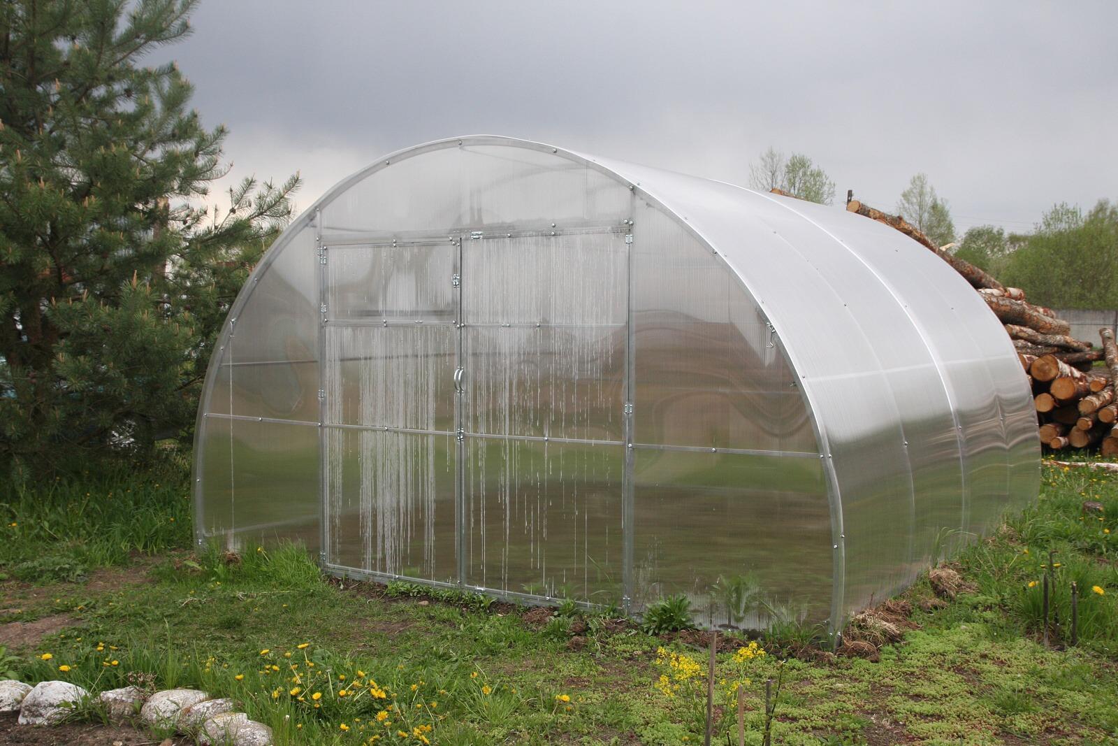 skleník LANITPLAST URAL 4x4 m PC 10 mm