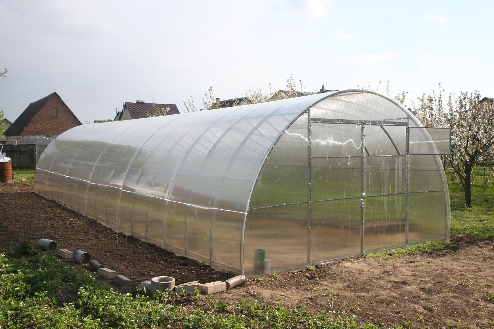 skleník LANITPLAST URAL 4x8 m PC 6 mm
