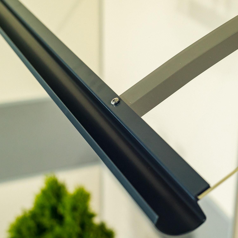 stříška nad dveře LANITPLAST OLOR 160/87 antracit