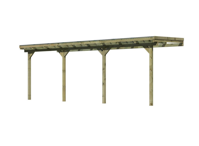 dřevěná pergola KARIBU ECO 2C (64651)