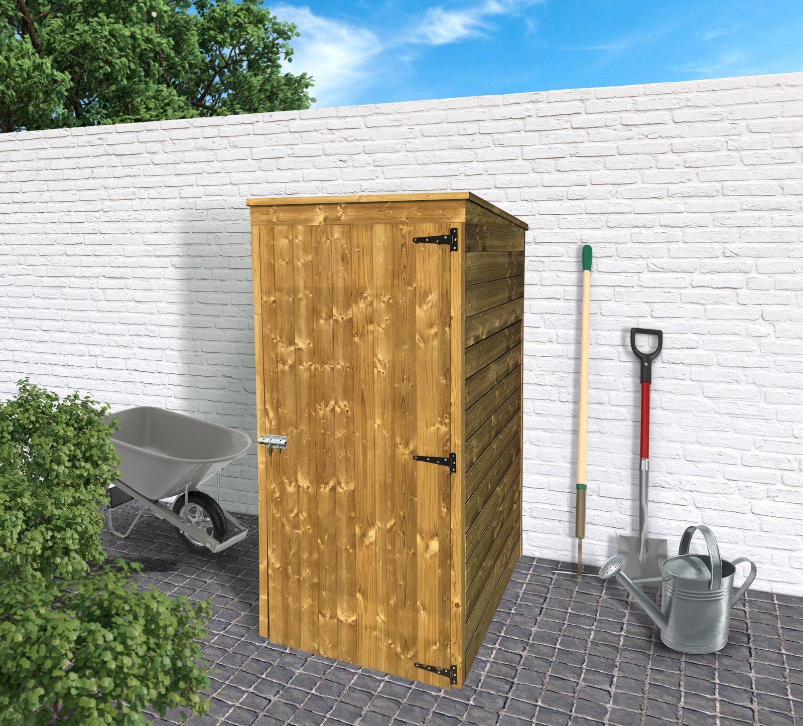dřevěný domek SOLID DEBORA 1 - 90 x 96 cm (S8581-1)