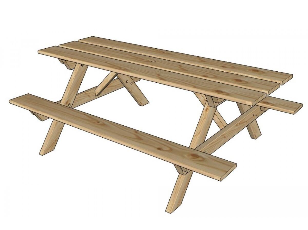 zahradní stůl LANITPLAST GARDEN1 (SG924)