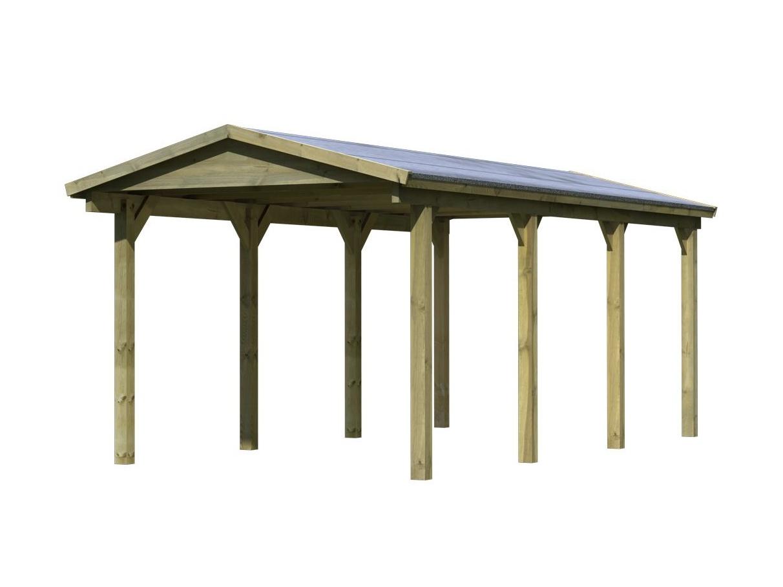carport KARIBU SATTELDACH 2 61982