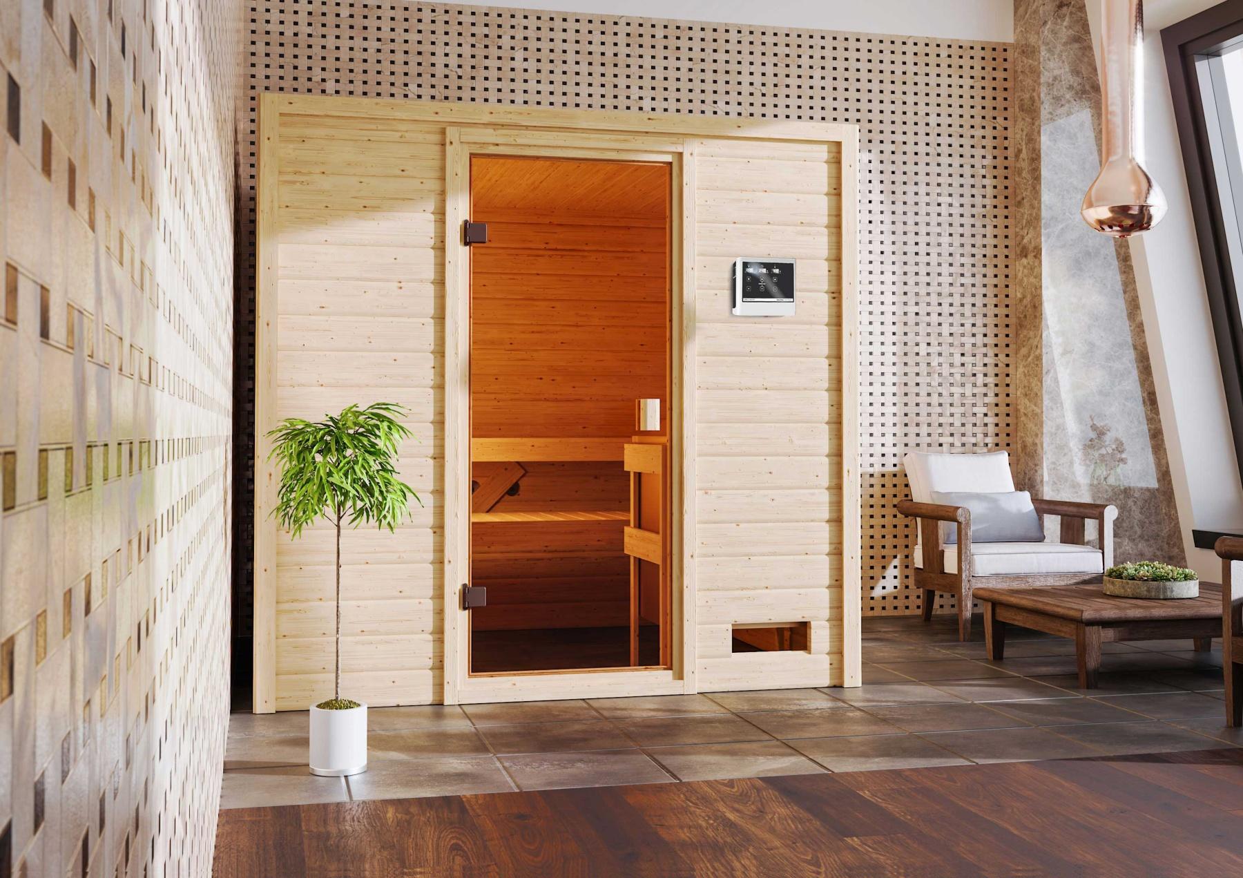 finská sauna KARIBU ADELINA (6168)