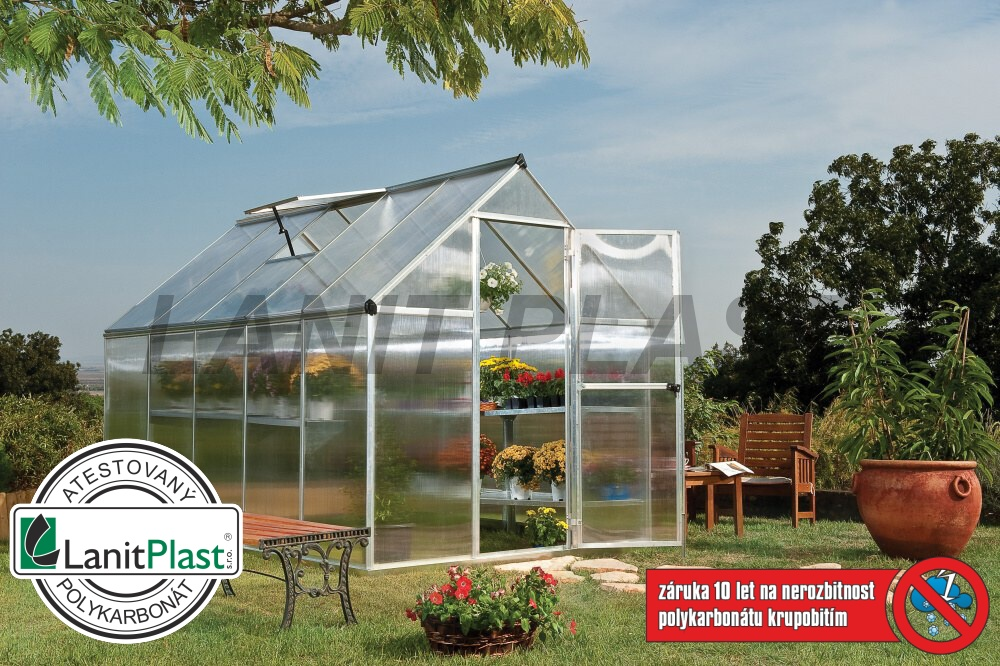 skleník MYTHOS typ 6x10, rozměr 185 x 310 cm