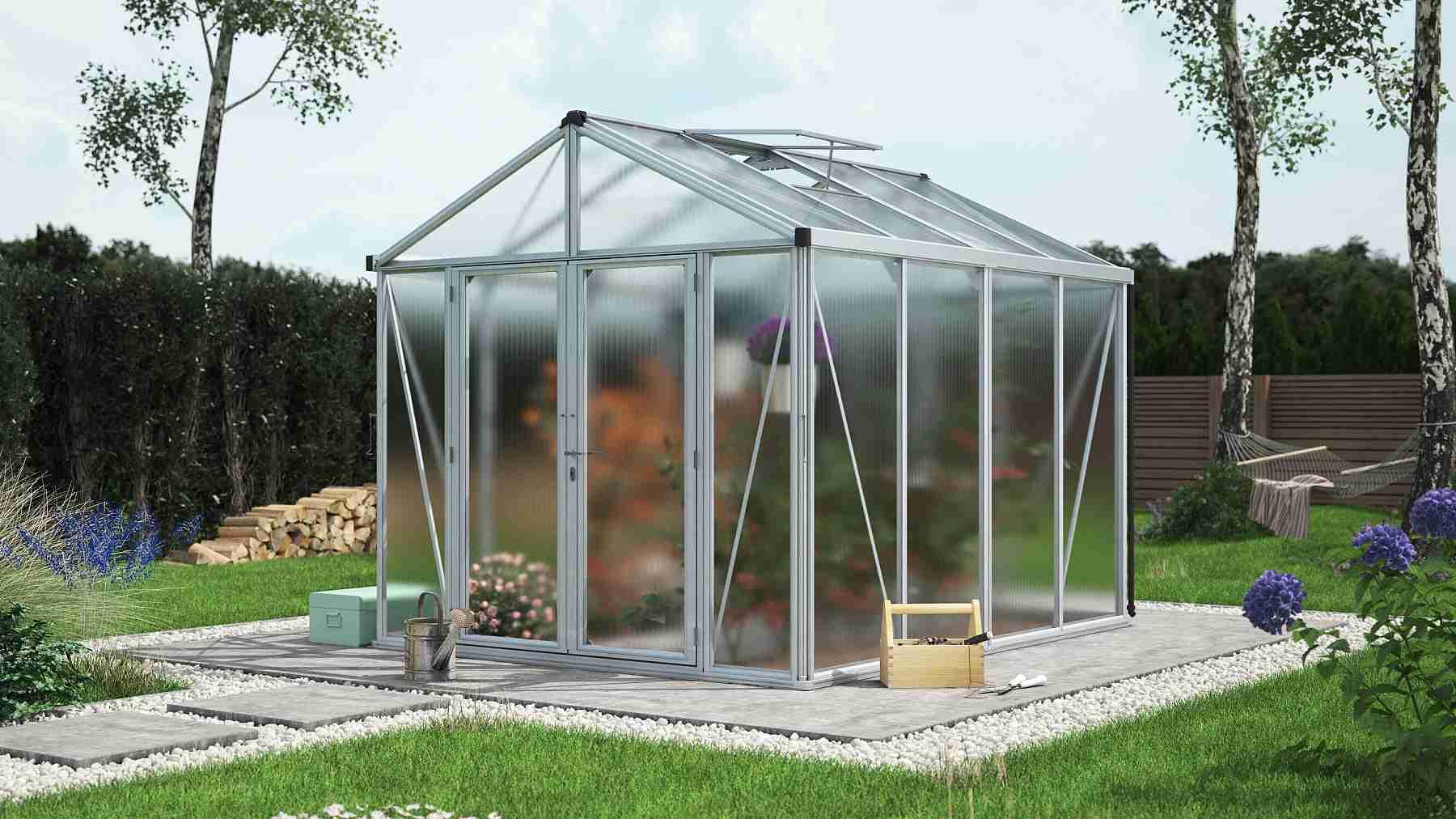 skleník VITAVIA ZEUS 8100 PC 6+10 mm