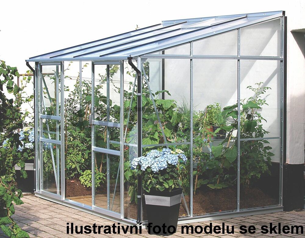skleník VITAVIA IDA 5200 PC 4 mm stříbrný