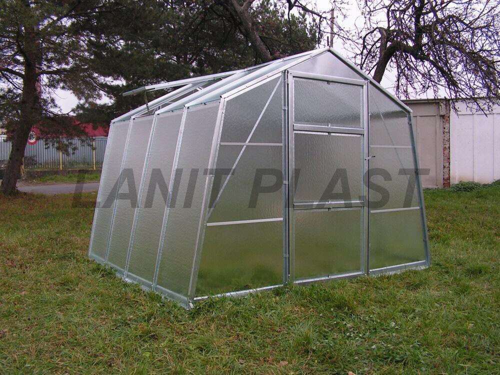 skleník VITRUM HOBBY 12300 prosklení - zahrádkářské sklo