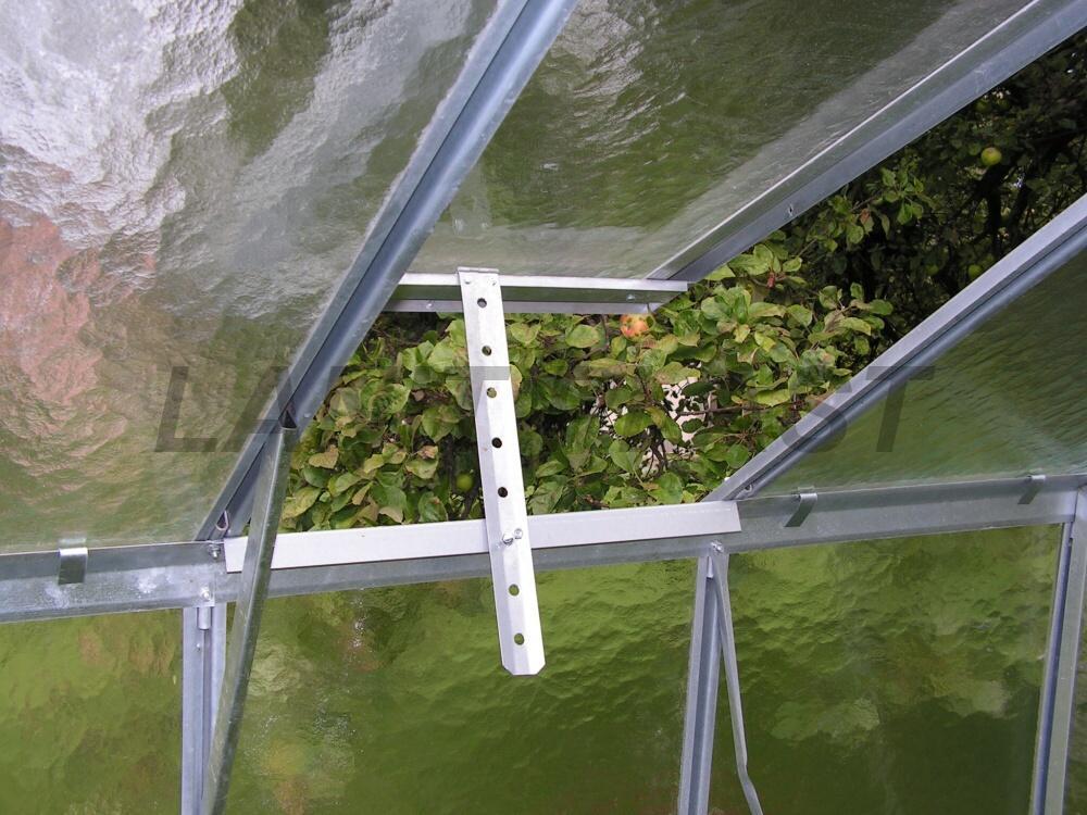 skleník VITRUM PROFIstřešní ventilační okno