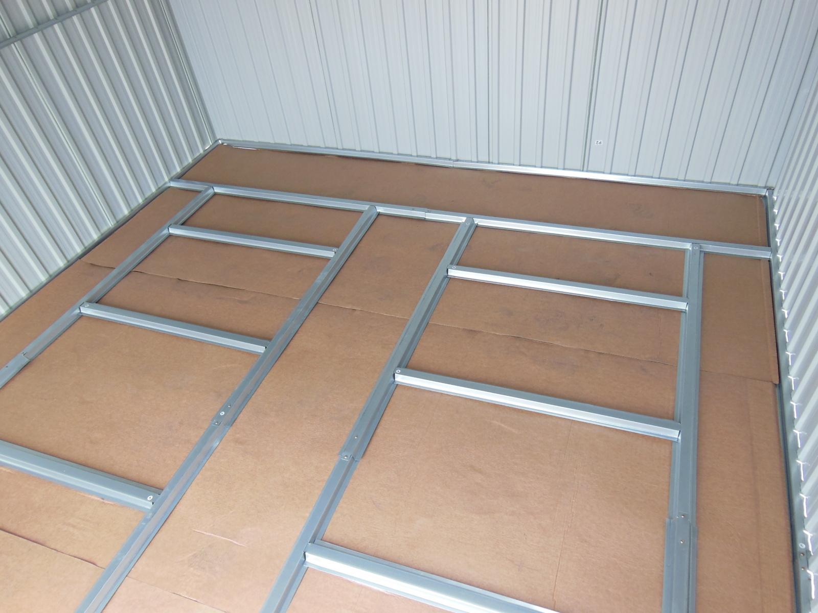 podlahová základna LANITPLAST LANITSTORAGE 8x6