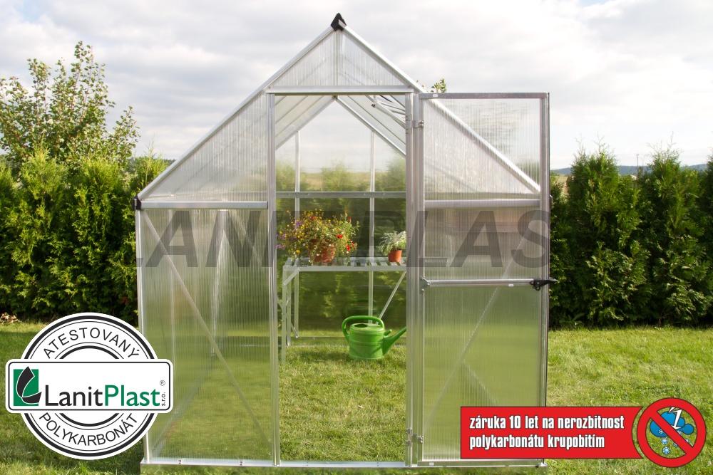 skleník LanitGarden 6x10 - 5700 délka 310 cm, set se základnou