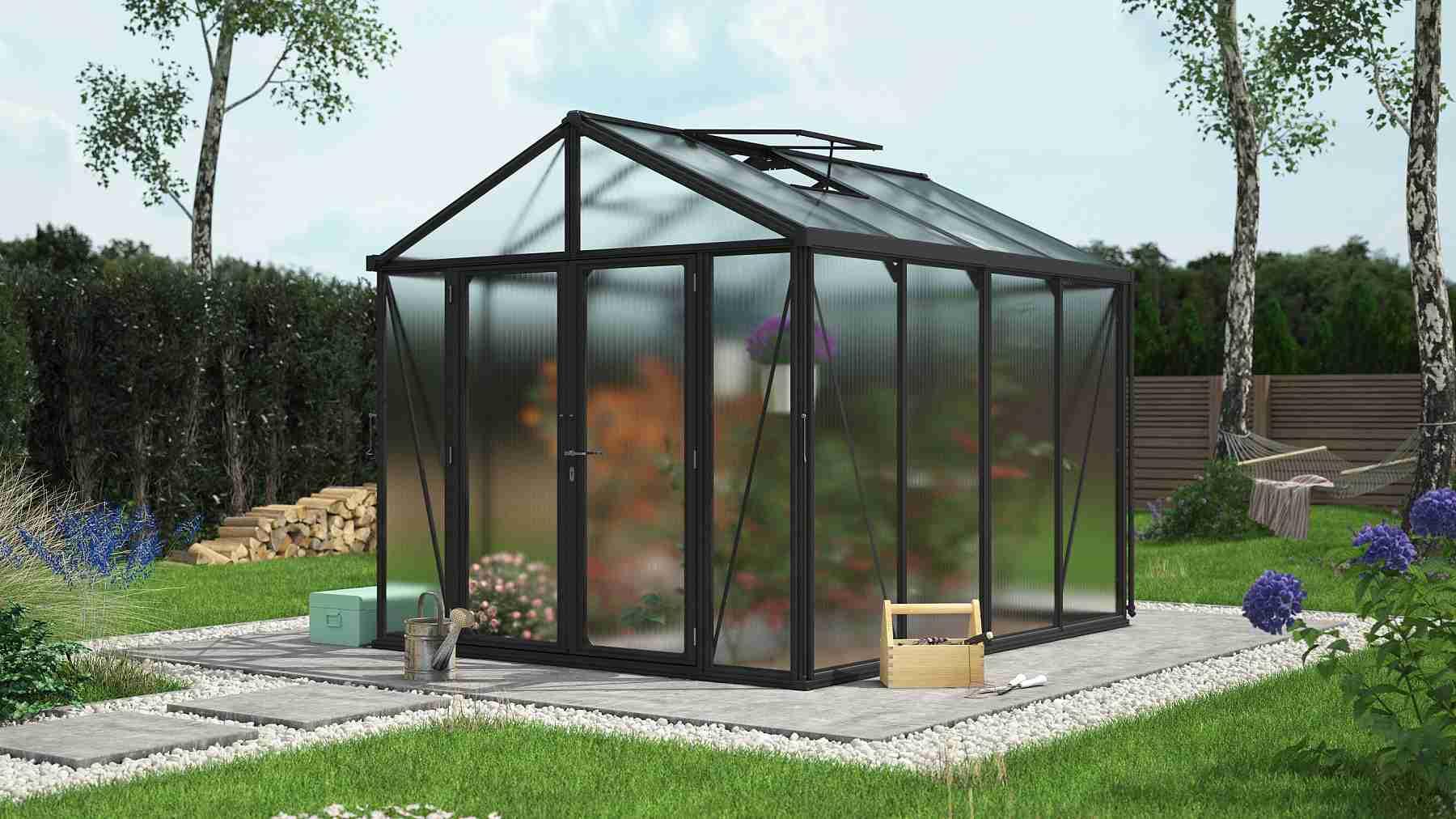 skleník VITAVIA ZEUS 8100 PC 10+10 mm